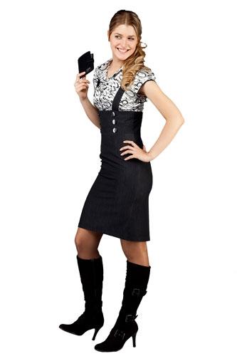 Классический сарафан, фото. Продажа классических женских юбок марки Ольга Егорова - высокое качество, доступные цены